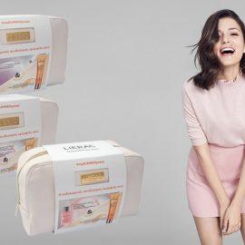Με σύνθημα «Ο καλοκαιρινός συνδυασμός ομορφιάς σου!» η Lierac προτείνει τρία σούπερ κομψά και? πολύτιμα τσαντάκια σε ειδική τιμή για το φετινό καλοκαίρι: Διαλέξτε ανάλογα με τις ανάγκες σας: Αντιγηραντικό ορό, Μάσκα ενυδάτωσης ή Σέρουμ ενυδάτωσης και αντηλιακό προσώπου.