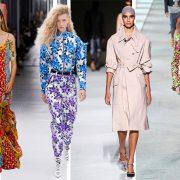 Από τη μία τα μποέμ φλοράλ (όπως το μακρύ φόρεμα της Carolina Herrera), από την άλλη η συνδυαστική έκρηξη των εμπριμέ (Louis Vuitton) για να φθάσουμε στο απόλυτα μίνιμαλ του μπεζ και των λιτών γραμμών (Τοm Ford) και να ξαναγυρίσουμε στην πανδαισία χρώματος του Michael Kors… όλα είναι στη δική μας ευχέρεια