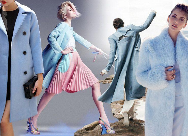 Το γαλάζιο παλτό: Κομψό, απαλό και φρέσκο