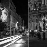 Αnne Sophie και Julien ασπρόμαυροι // Maud και Paul σε ένα από τα ιστορικά κτίρια της γαλλικής πρωτεύουσας
