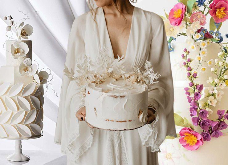 Νυφικές τούρτες της… μόδας!