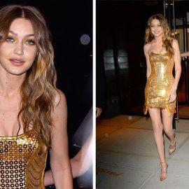 H Gigi Hadid γιόρτασε... στα χρυσά!