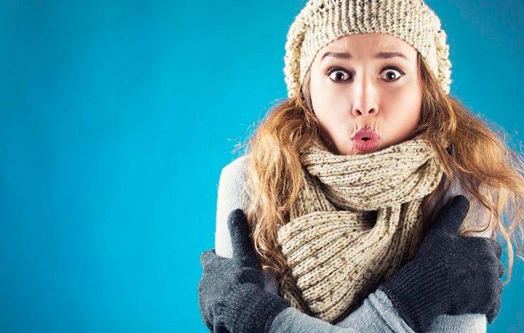 Γιατί οι γυναίκες κρυώνουμε πιο πολύ;