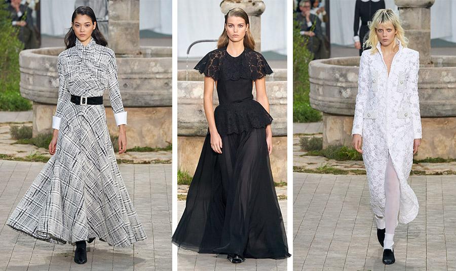 Μία συλλογή εστιασμένη στο άσπρο-μαύρο με κομψές δημιουργίες για την άνοιξη-καλοκαίρι 2020, Chanel