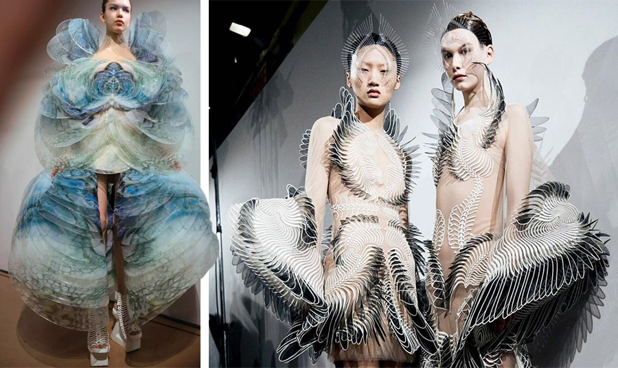 Οι μαγευτικές δημιουργίες της Iris Van Herpen που οραματίζονται το μέλλον…