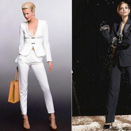 «Ένα ανδρόγυνο κοστούμι για το βράδυ αποπνέει διακριτική γοητεία. Είναι λαμπερό, ευκολοφόρετο κι αν το σακάκι φορεθεί κατάσαρκα, το αποτέλεσμα είναι κομψό και εξαιρετικά σέξι», δηλώνει ο διάσημος σχεδιαστής