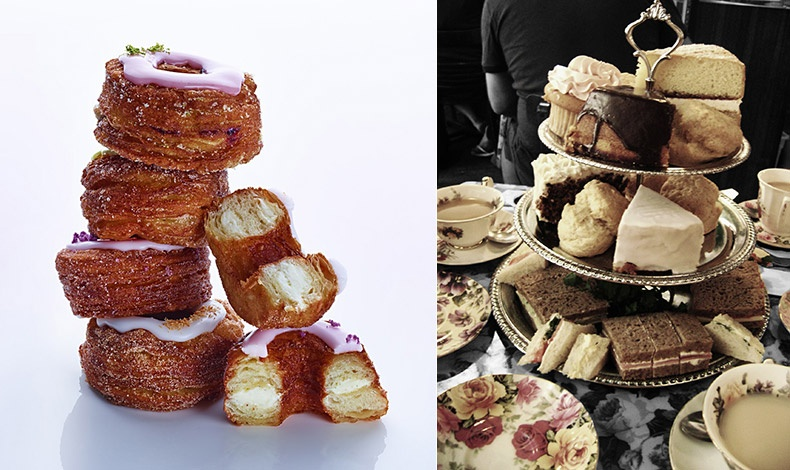 Dominique Ansel Bakery για τα λαχταριστά, δικής του έμπνευσης Cronut?, καθώς και άλλες πρωτότυπες γλυκές δημιουργίες // Στο Tea & Sympathy για το καλύτερο απογευματινό τσάι με τα ανάλογα γλυκά