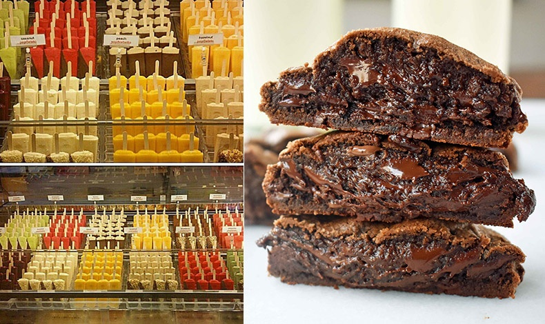 Στο Popbar για χειροποίητα παγωτά σε ξυλάκι σε τεράστια ποικιλία γεύσεων // Οι Νεοϋορκέζοι κάνουν ουρές για τα γιγαντιαία cookies σοκολάτας του Levain Bakery