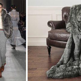 Από την πασαρέλα χειμώνας 2019 του οίκου Philosophy // Οι ψεύτικες γούνες κατακτούν και το σπίτι μας…