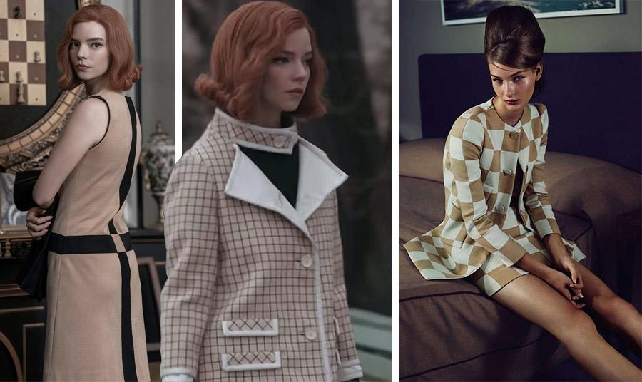 Η Anya Taylor Joy στο «Γκαμπί της Βασίλισσας» έβαλε… φωτιά στις αναζητήσεις μόδας για τα ρούχα «σκακιέρα» ή καλύτερα για τα καρό