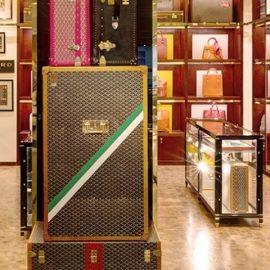 Το κατάστημα Goyard στη Νέα Υόρκη συνδυάζει την παράδοση με μια σύγχρονη αισθητική