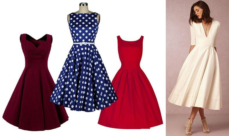 """Τα φορέματα σε γραμμή """"Α"""" βγαίνουν σε όλα τα χρώματα και υφάσματα που μπορεί να φανταστεί κανείς, και κατά συνέπεια απαντούν στις ανάγκες κάθε περίστασης"""