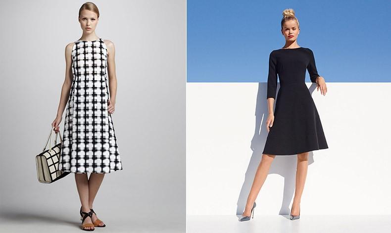 Οι ψηλές γυναίκες καλό θα είναι να προτιμούν τη μίντι εκδοχή (μήκος φούστας μέχρι το γόνατο ή λίγο πιο κάτω) για κομψό αποτέλεσμα και τέλεια κάλυψη