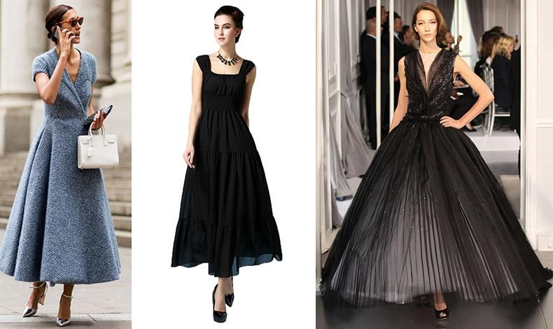 """Το φόρεμα σε γραμμή """"Α"""" βγαίνει και σε μακριά εκδοχή για επιπλέον glam!"""
