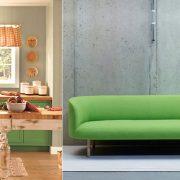 Το ζωηρό πράσινο καλείται να κατακτήσει τα χρώματα στην κουζίνα μας, ή στην ταπετσαρία του καναπέ μας και να μας γεμίσει ζωντάνια!