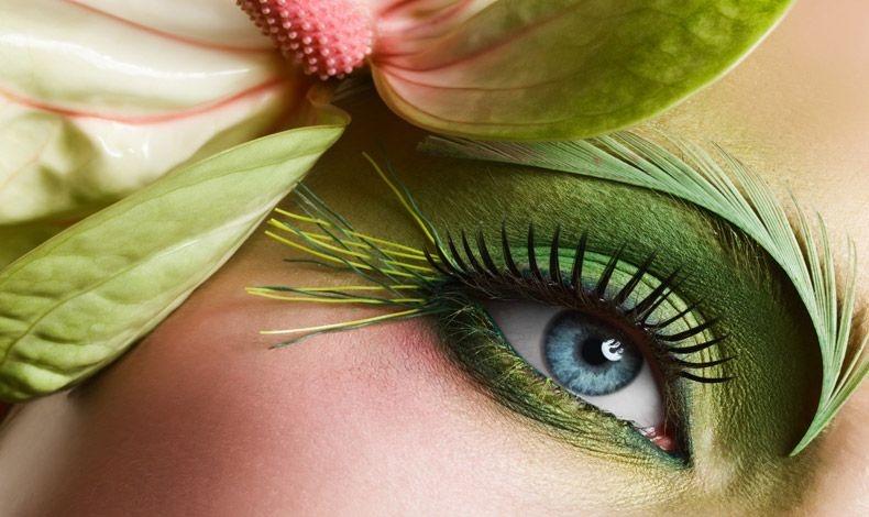 Μακιγιάζ με έμπνευση από το χρώμα της χρονιάς και την αίσθηση της άνοιξης