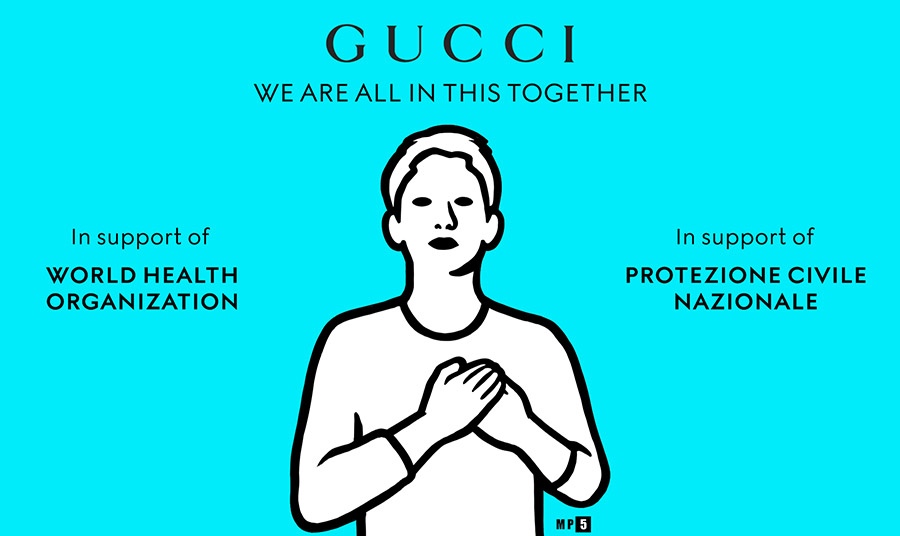 Gucci: Μία διαφορετική καμπάνια…