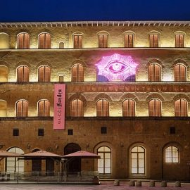 To υπέροχο κτίριο Palazzo della Mercanzia που στεγάζει τον νέο πολυχώρο βρίσκεται ανάμεσα στην Piazza della Signoria και την Piazza di San Firenze