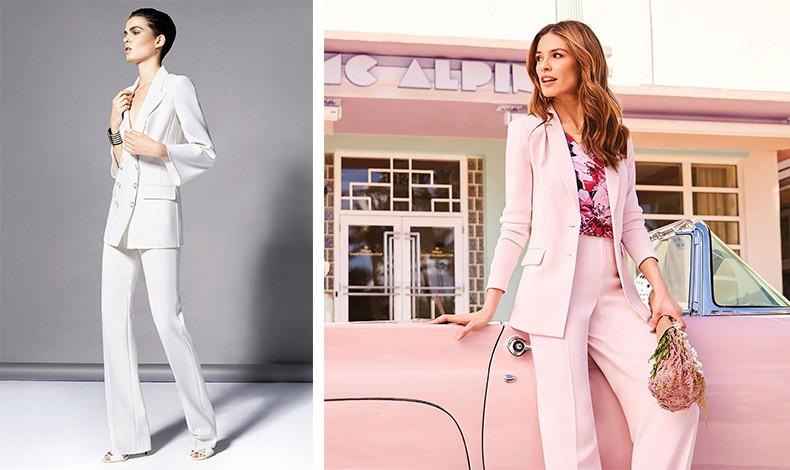 Τα τελευταία χρόνια το γυναικείο κουστούμι σε λευκό χρώμα έχει αρχίσει να γίνεται μια ιδιαίτερη επιλογή και για τις νύφες // Μια όμορφη και πολύ μοντέρνα ιδέα για ντύσιμο σε γάμο αποτελεί και το κοστούμι. Συνδυάστε ένα ωραίο χρώμα με ένα κομψό πουκάμισο ή μια αέρινη μπλούζα από διαφάνεια