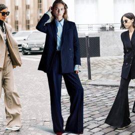 Τα πολύ φαρδιά κοστούμια είναι κορυφαία τάση της μόδας, αλλά δυστυχώς δεν ταιριάζουν σε κάθε σωματότυπο. Είναι ιδανικά για πολύ λεπτές και ψηλές σιλουέτες που δεν έχουν πρόβλημα με τον επιπλέον όγκο