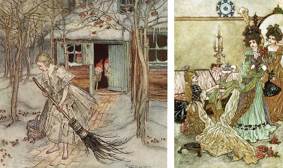Εικονογραφήσεις από παλαιές εκδόσεις των παραμυθιών του… απλά μαγικές!