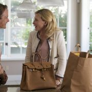 """Η Κέιτ Μπλάνσετ με Birkin για τις ανάγκες της ταινίας του Γούντι Άλεν, """"Θλιμμένη Τζάσμιν"""" (Blue Jasmine)"""