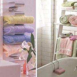 Παίξτε με τα παστέλ χρώματα στο μπάνιο και στις πετσέτες σας για ένα απαλό και αρμονικό αποτέλεσμα