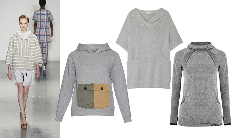 Από διάφορα υλικά, βαμβακερό, βελουτέ ή πλεκτό... Με κοντή φούστα Suno // Με εντυπωσιακές τσέπες, Visvim // Με κοντά μανίκια, James Perse // Βελουτέ, Nike