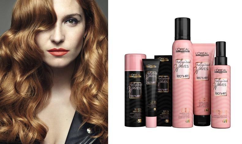 Για τις πιο ρομαντικές, η τάση Vintagist θα γίνει η αγαπημένη τους! Για να λάμψετε σαν σταρ με απαλούς κυματισμούς στα μαλλιά, τα Andreas Coiffures συμβουλεύουν τη χρήση της σειράς Tecni.ART Hollywood Waves της L'Oréal Professionnel