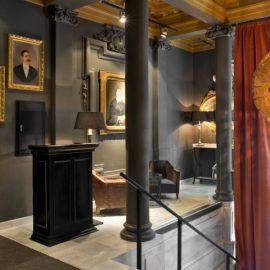 Το Principal Madrid Hotel διαθέτει σύγχρονο, σοφιστικέ στιλ, αλλά ταυτόχρονα αναδύει και έναν διαχρονικό αέρα