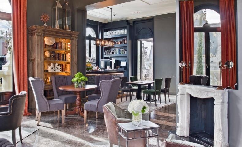Όλα στο ξενοδοχείο έχουν σχεδιαστεί με γνώμονα την ευεξία -ο φωτισμός, η μουσική επένδυση, το ντεκόρ είναι ατμοσφαιρικά