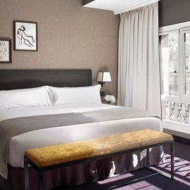 Τα δωμάτια προσφέρουν πολυτέλεια, άνεση και υψηλή τεχνολογία, σε ένα περιβάλλον αισθητικής υπεροχής