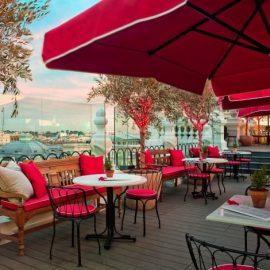 Το κοσμοπολίτικο μπαρ Terraza, διαθέτει κατά πολλούς την καλύτερη και πιο εντυπωσιακή θέα στην ισπανική μητρόπολη