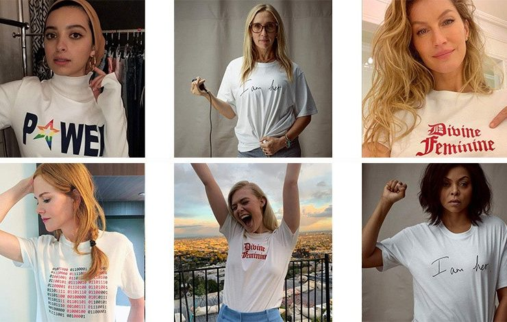 Ένα Τ-shirt για τη ζωή των γυναικών ανά τον κόσμο!