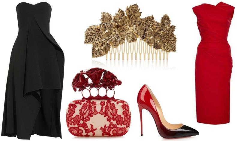Κλεψύδρα: Ο πιο σέξι σωματότυπος. Το ιδανικό look είναι αυτό που θα σας βοηθήσει να προβάλλετε τις καμπύλες σας! // Στράπλες φόρεμα, Stella McCartney // Χτενάκι για μαλλιά, Maison Michel // Clutch, Alexander McQueen // Γόβα, Christian Louboutin // Φόρεμα, Preen by Thorton Bregazzi