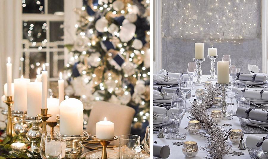 Τα αρωματικά κεριά στο τραπέζι θέλουν προσοχή! Αποφύγετε τις πολύ έντονες ευωδιές για να μπορέσετε να απολαύσετε τα αρώματα των εδεσμάτων!