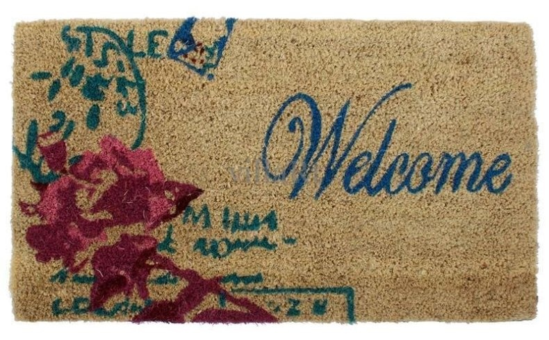 Ένα όμορφο χαλάκι στην εξώπορτά σας δίνει το πρώτο καλωσόρισμα!