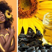 Ηλιέλαιο: Κάνει το δέρμα και τα μαλλιά μας να λάμπουν σαν τον ήλιο!