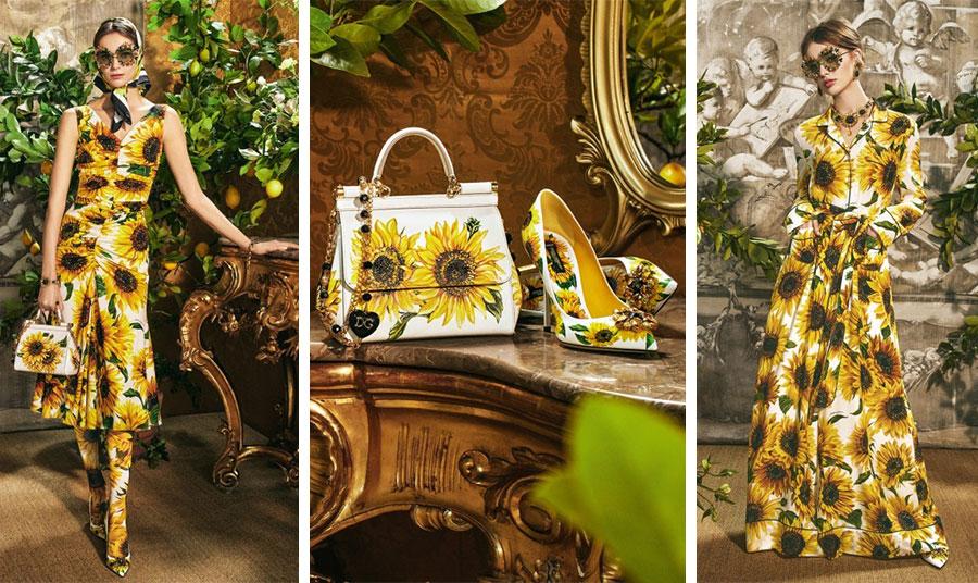 Από την εκπληκτική συλλογή της «Ηλιοτρόπια» των Dolce&Gabbana