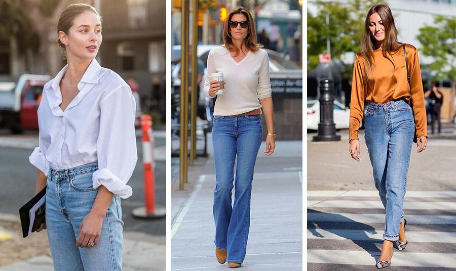 Λευκό πουκάμισο ή ένα ωραίο λεπτό πουλοβεράκι είναι κατάλληλοι συνδυασμοί, όπως και ένα τοπ ή πουκάμισο πιο πολυτελές και με χρώμα