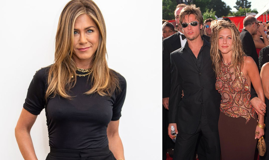 Η hairstylist της Τζένιφερ, Chris McMillan, της πρότεινε το απλό φυσικό στιλ // Το hair look που δημιούργησε το 1999 στα βραβεία Emmy's, έχοντας στο πλευρό της τον Μπαντ Πιτ