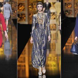 Aπό την επίδειξη μόδας του οίκου Dior, για το φθινόπωρο-χειμώνα 2009-2010
