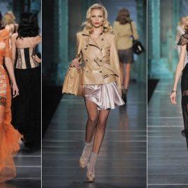Aπό την επίδειξη μόδας του οίκου Dior, για την άνοιξη-καλοκαίρι 2009