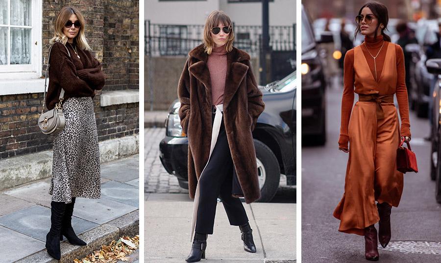 Σκούρο καφέ με λεοπάρ, πάντα επίκαιρο! // Επενδύστε σε ένα καφέ παλτό ή ακόμη καλύτερα μία ψεύτικη γούνα που μπορείτε να τη φοράτε ακόμη και καθημερινά // Μία εντυπωσιακή εμφάνιση: Κινείται ανάμεσα σε μία μοντέρνα εικόνα με ρετρό στοιχεία και funky αποχρώσεις του «καμένου» πορτοκαλί, μανταρίνι και καφέ