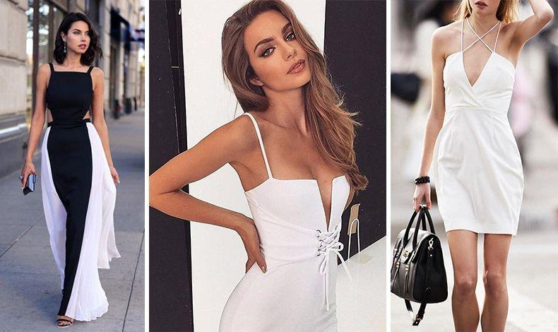 Φορέστε ένα μακρύ φόρεμα με ιδιαίτερα κοψίματα για αέρινη θηλυκότητα ή επιλέξτε ένα φόρεμα με αβυσσαλέο ντεκολτέ για σέξι εμφάνιση