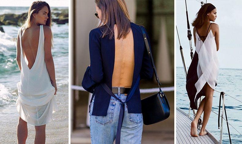 Δείξτε τους… την πλάτη σας! Τα φετινά φορέματα και μπλούζες που αφήνουν ακάλυπτη την πλάτη είναι μόδα