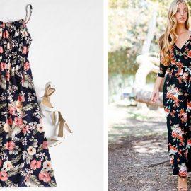 Τα λουλουδάτα φορέματα είναι κι αυτό το καλοκαίρι πολύ της μόδας και σε διάφορες εκδοχές. Έχουν το πλεονέκτημα να μας ντύνουν με κομψότητα και άνεση