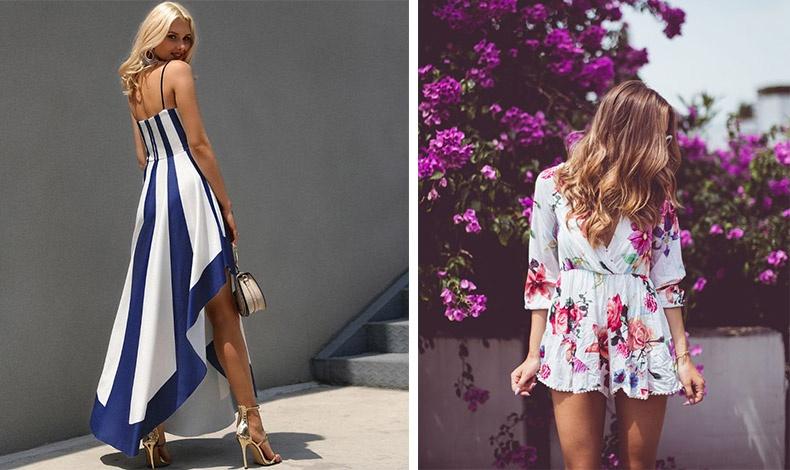 Ένα μακρύ ασύμμετρο φόρεμα, πέρα από το γεγονός ότι είναι μόδα, είναι μία κομψή και εύκολη λύση // Μακρύ ή κοντό ένα λουλουδάτο φόρεμα αποτελεί σίγουρη επιλογή