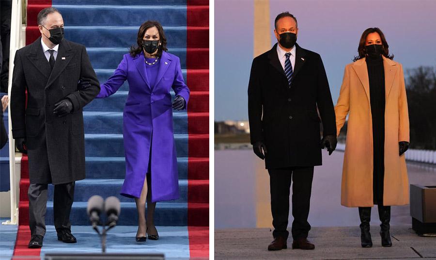 Η επιλογή της Καμάλα Χάρις να επιλέξει μαύρους Αμερικανούς σχεδιαστές δεν είναι καθόλου τυχαία  // Με καμηλό παλτό Pyer Moss και μαύρες μπότες την προηγούμενη βραδιά της ορκωμοσίας