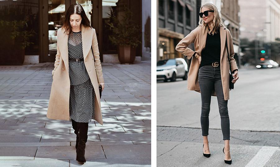 Ένα καμηλό παλτό, όχι μόνο είναι τέλεια επιλογή αλλά και σίγουρη αξία και βέβαιη υπογραφή κομψότητας! Είτε πάνω από ένα φόρεμα είτε και πάνω από το τζιν μας